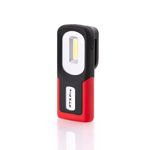 PTX Pro Inspektionslampa arbetslampa 150 lumen uppladdningsbar