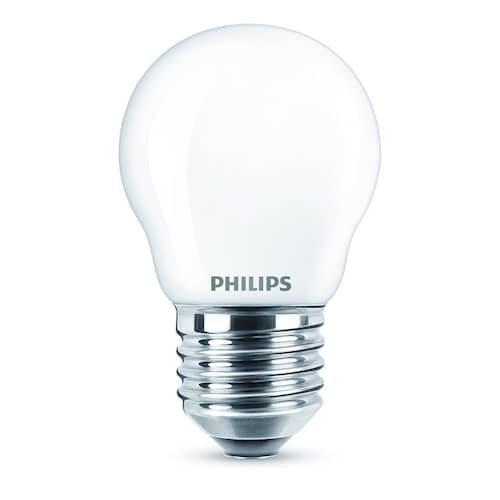 Philips Klotlampa 4,3W LED (40W) E27 470lm
