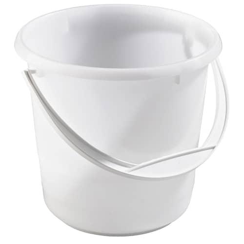 Nordiska plast Hink 5l, vit