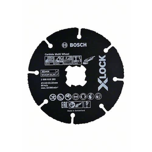 Bosch Kapskiva X-LOCK Carbide Multi Wheel 115 mm