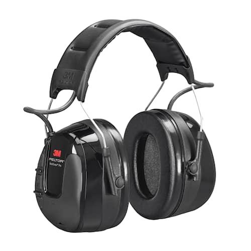 3M Peltor WorkTunes Pro hörselskydd med hjässbygel, HRXS220A