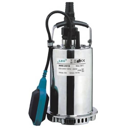 Leo Dränkbar pump XKS-751S med inbyggd flottör