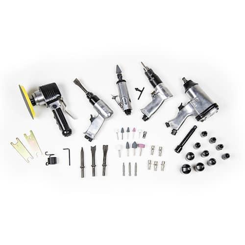 Drift-Air Tryckluftsdriven verktygssats 50 delar