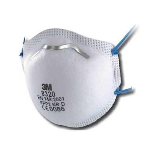 3M Andningsskydd, FFP2, utan ventil, 8320