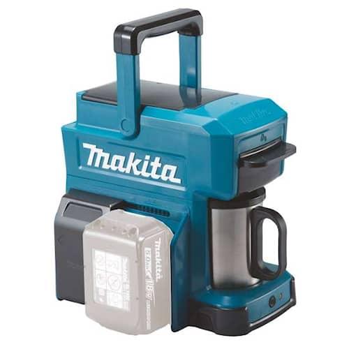 Makita Kaffebryggare DCM501Z 18V + mugg utan batteri & laddare