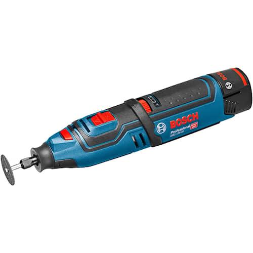 Bosch Rotationsverktyg GRO 12V-35 med 2st 2Ah batteri i L-BOXX