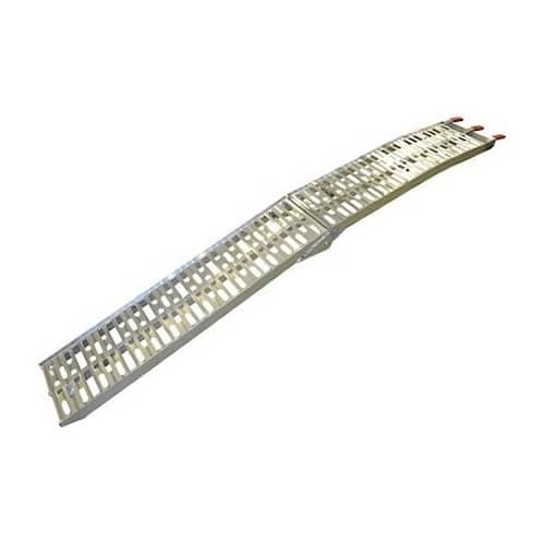 Kramp Aluminiumramp vikbar 1 par 225x30 cm 550 kg