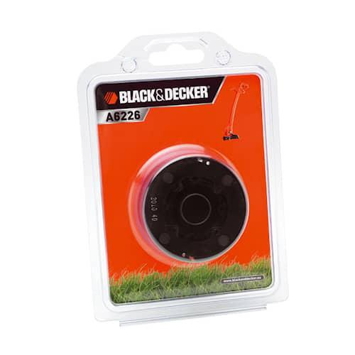 Black & Decker Trimmertråd A6226 6m på spole