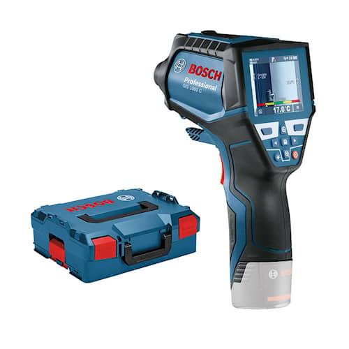 Bosch IR- termometer GIS 1000 C utan batteri & laddare med Quick start-kort i L-BOXX