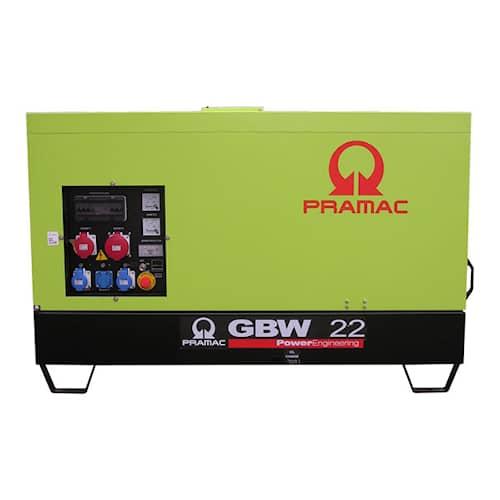 Pramac Elverk GBW22P MCP (täckt) 3-fas diesel