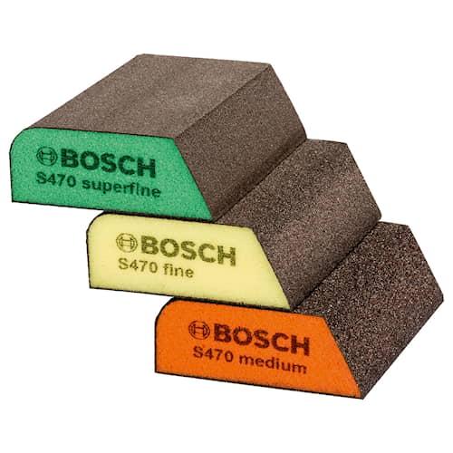Bosch Slipsvamp Profil 69x97x26mm 3-pack