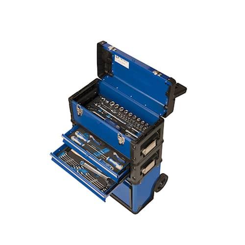 Irimo Verktygslåda på hjul med 96 verktyg