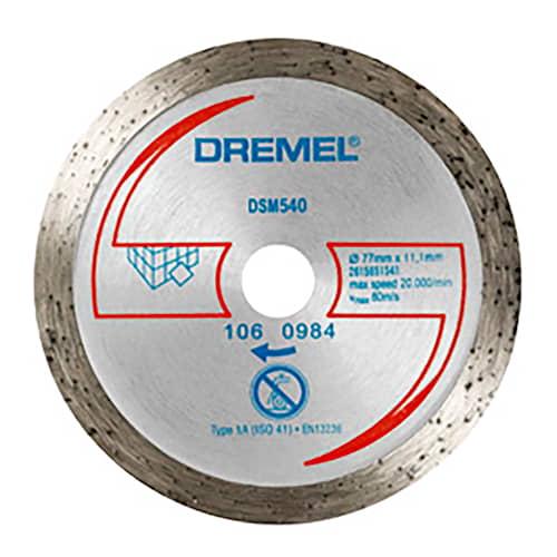 Dremel Diamantkapskiva DSM540 Kakel för DSM20