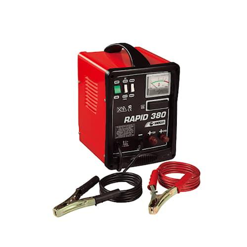 Helvi Batteriladdare med starthjälp Rapid 380 12/24V 38A