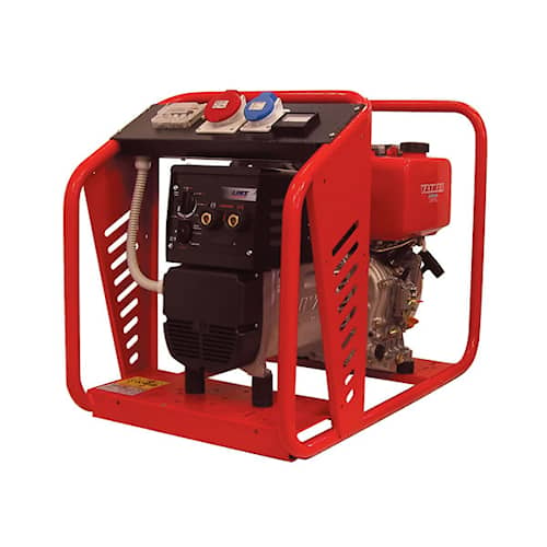 TecnoGen Motorsvets SD200YTE 3-fas Yanmar diesel