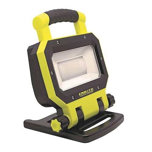 Unilite Strålkastare arbetslampa LED 3000 lumen uppladdningsbar