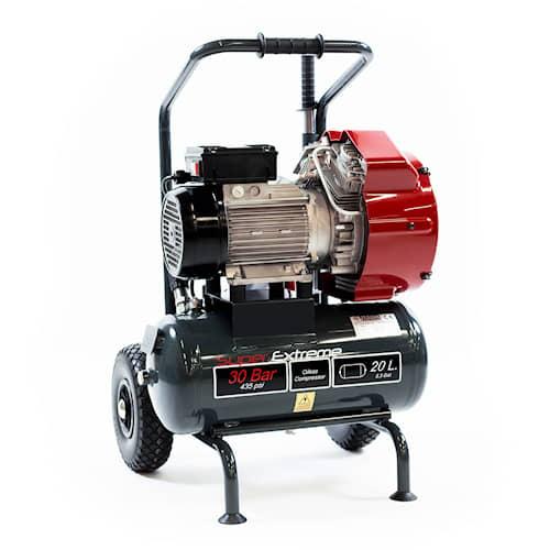 Nardi Högtryckskompressor Extreme 1 20L 30 bar oljefri