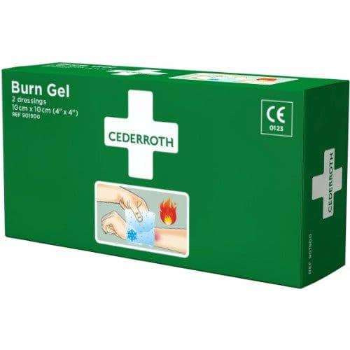 Cederroth Brännskadekompress Burn Gel Dressing 901900