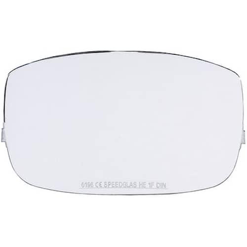 3M Speedglas Yttre skyddsglas till 9000X, reptålig, 10-pack, 427000