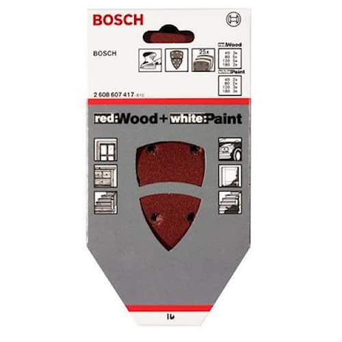Bosch Slippapperssats PSM Ventaro 1400 93x102mm 6H+5H