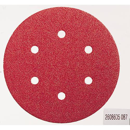 Bosch Sliprondell 6 hålat 150 mm 5 st