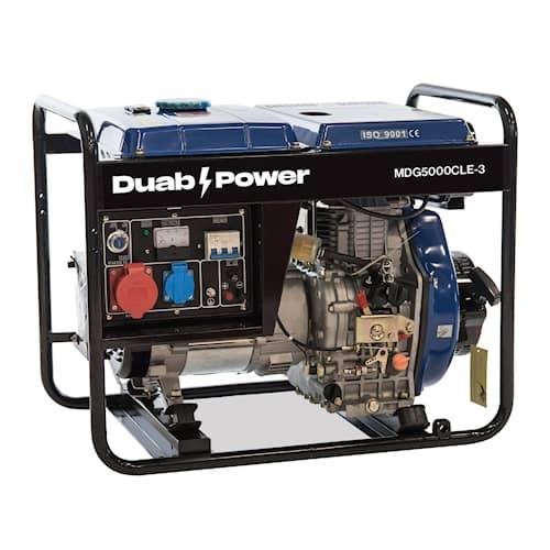 DUAB-POWER Elverk MDG5000CLE-3 3-fas diesel