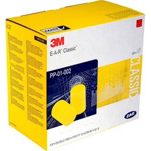 3M E-A-R Classic Hörselproppar, 28 dB, 250par/frp, PP-01-002