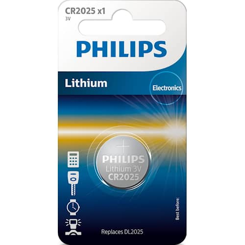 Philips Battericell Lithium CR2025
