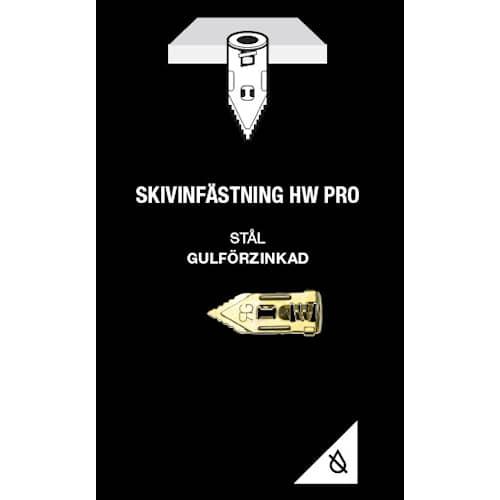 Gunnebo Fastening Skivinfästning HW Pro Elförzinkad 5-pack