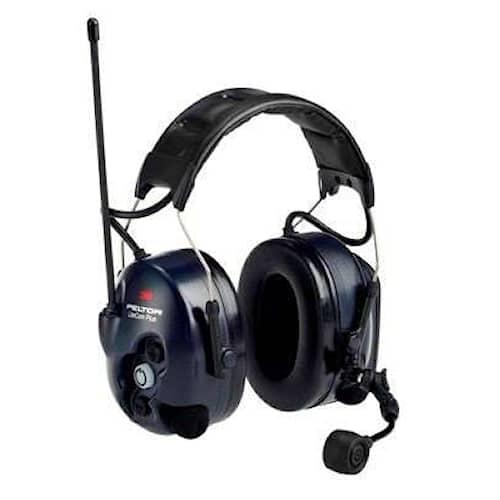 3M Peltor LiteCom Plus hörselskydd med hjässbygel, 34 dB, PMR 446 MHz, MT7H7A4410-EU