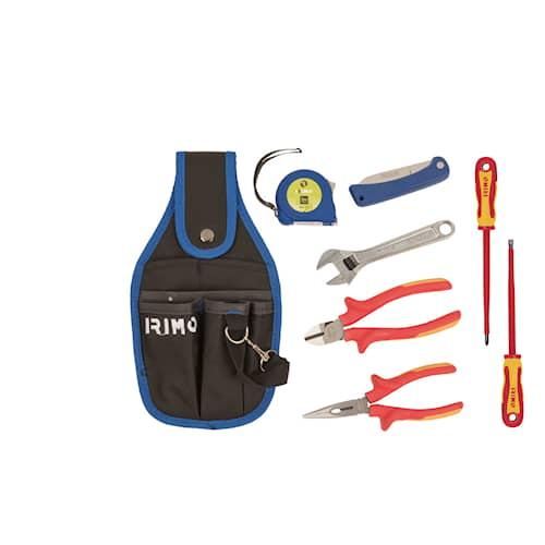 Irimo Verktygsficka med 7 verktyg för elektriker