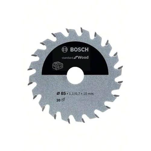 Bosch Sågklinga Standard for Wood 85×1,1/0,7×15mm 20T