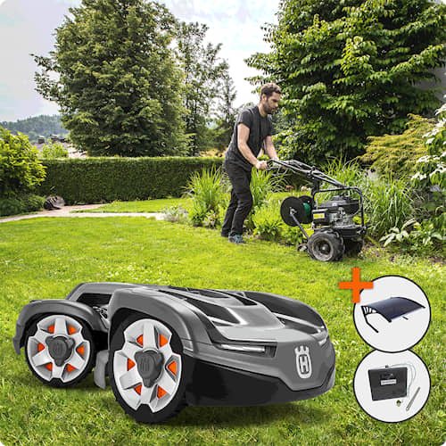 Husqvarna Automower® 435X AWD Installerad & Klar