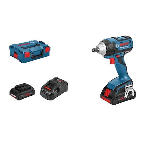 Bosch GDS18V-Ec 250 2X4,0Ah Pc Lb Slagnyckel