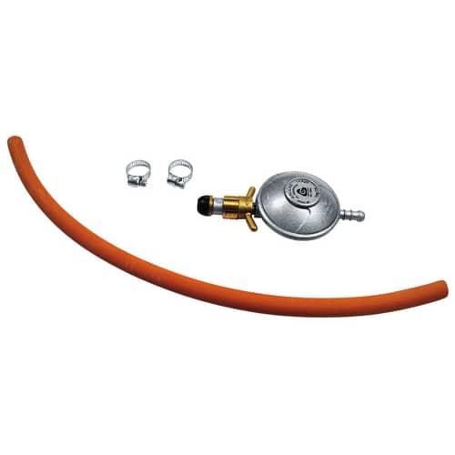 Duab Gasregulator med slang
