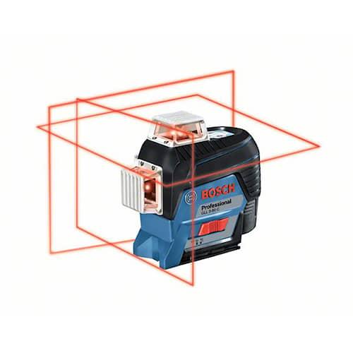 Bosch Cirkellaser GLL 3-80 C + GLM 50 C