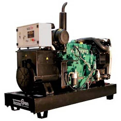 TecnoGen Elverk VO212TV 3-fas diesel