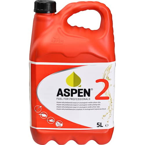 Aspen Alkylatbensin Aspen 2 2-takt 5 liter