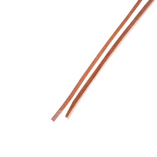 Ejendals Skosnöre 6003 läder 125cm, brun