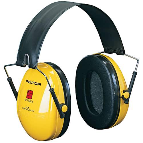3M Peltor Peltor Optime 1 hörselskydd med vikbar hjässbygel, H510F404GU
