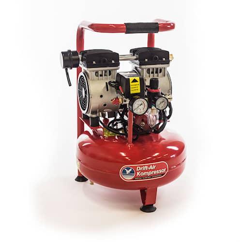 Drift-Air Kompressor JWS15 tystgående oljefri 1-fas