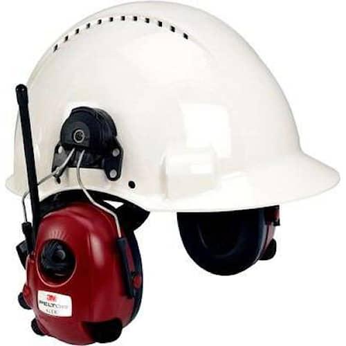 3M Peltor Alert hörselskydd med hjälmfäste, FM-radio, M2RX7P3E2-01