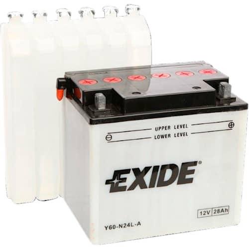 Exide Batteri 12N28-3 för trädgårdstraktor