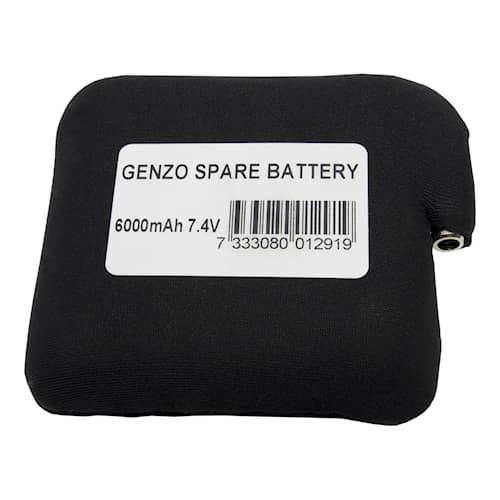 Genzo Batteri till Värmeväst Arctic 6000mah