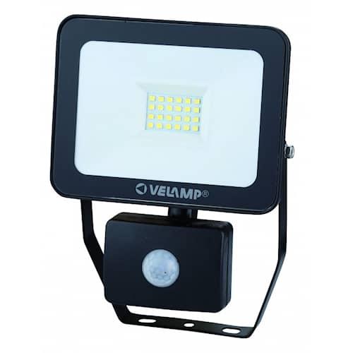 Velamp Strålkastare LED med rörelsesensor 20W 4000K
