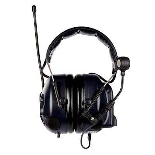 3M Peltor LiteCom Plus hörselskydd med hjässbygel, 34 dB, LPD 433 MHz, MT7H7A4310-EU