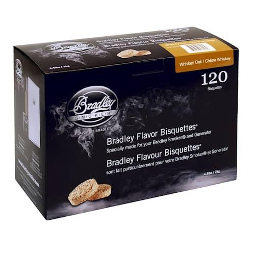 Bradley Briketter Whiskey Oak 120pack