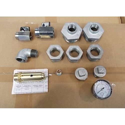 Abac Kit för vertikal tryckluftstank 900 / 500 liter
