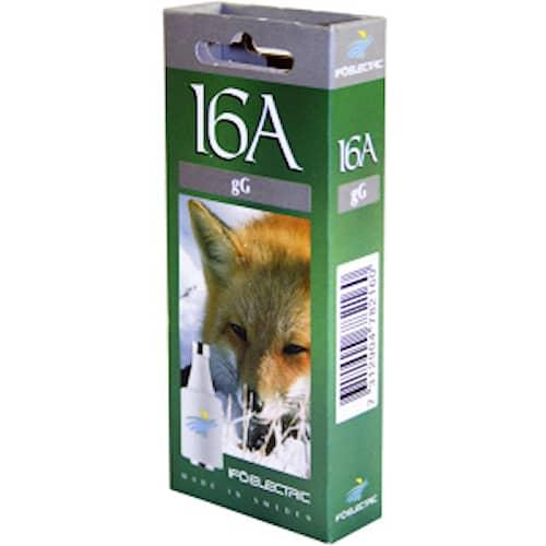 Amiga Säkring 16A Trög 5-pack