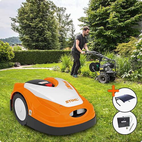 Stihl Robotgräsklippare iMow RMI 422 PC - 1700m² Installerad & Klar